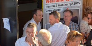 Wahlkampfauftaktfest vom 29. August in Embrach